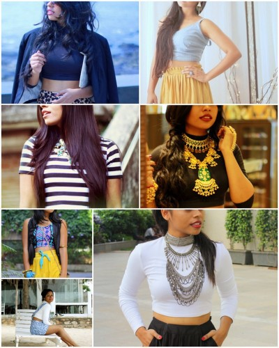 5 Crop Tops, 7 Days: How to Style the Crop Top through the Whole Week!