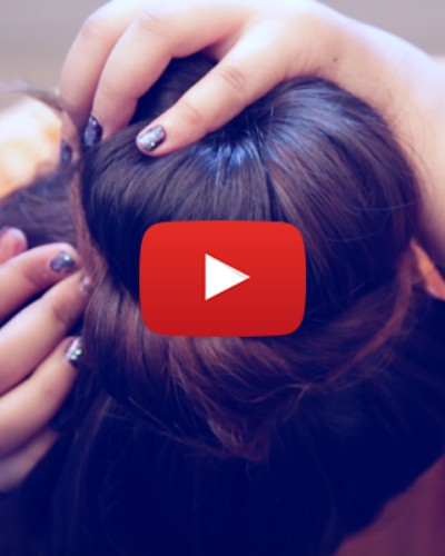 How to Make a Super-Cute Donut Bun Using a Pair of Socks!