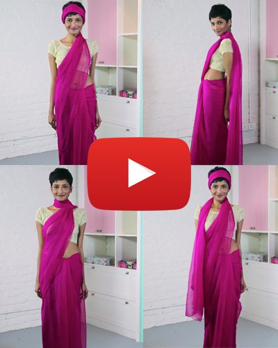 Byebye, Boring Saree! 4 Amazing Ways to Drape Your Pallu