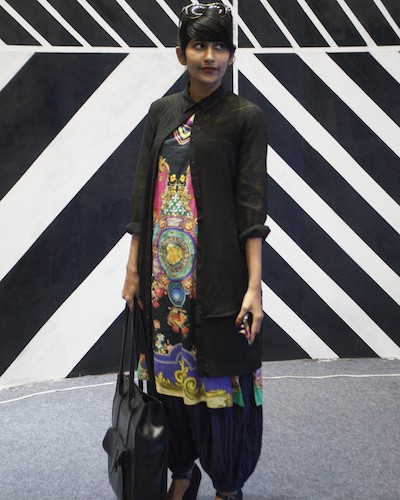 Gopika E.M at Amazon India Fashion Week AW15