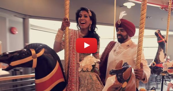 This Couple Shows You How To Have FUN At Your Wedding!!