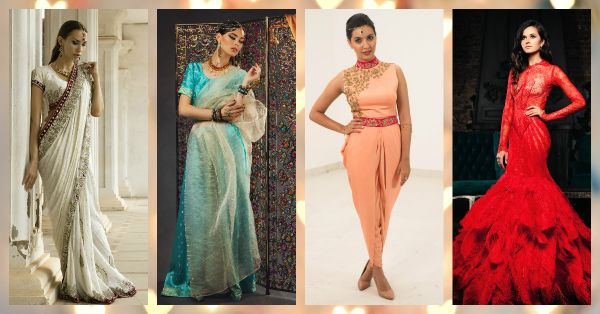 5 Perfect Looks For EVERY Wedding Function!