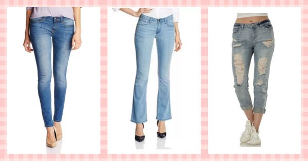 How To Style 4 Basic Types Of Jeans!
