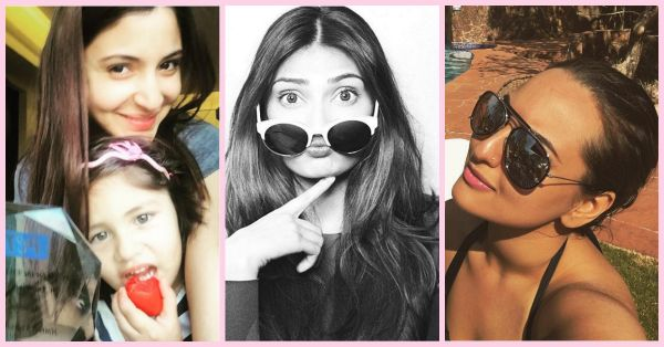 Guess What PC's First Selfie In 2016 Was?! And Sonam's?!