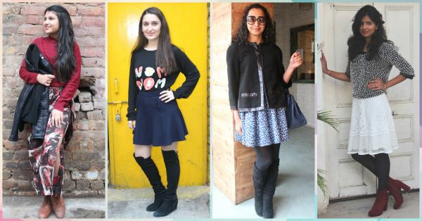 How To Style Your Fav Skirt For The Winter (And Still Be Warm!)