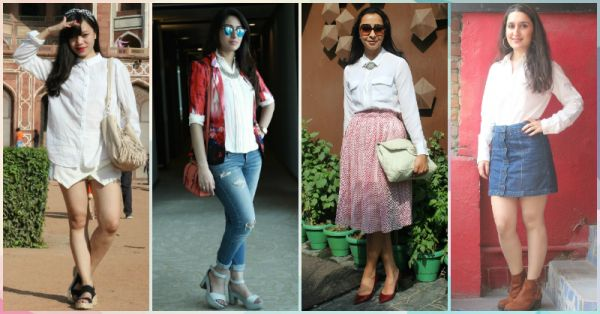 8 Simple Ways To Style That White Shirt To Look Amazing!