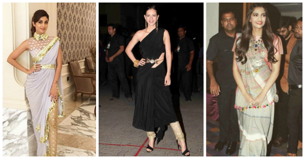 6 New Ways To Drape A Sari - Easier Than What Moms Teach Us!