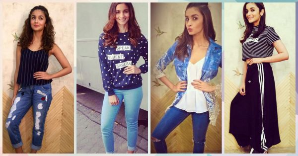 #CollegeGirl: 9 Adorable Outfit Ideas To Steal From Alia Bhatt!