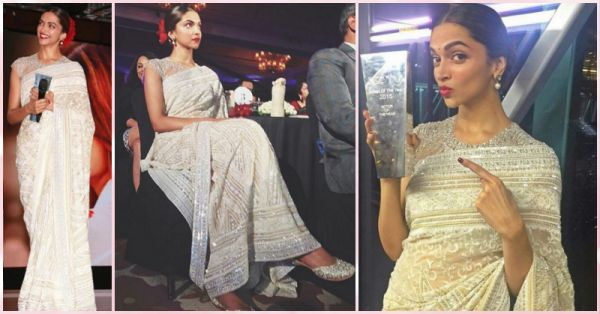 How To Steal Deepika's Gorgeous White Sari For Your Next Shaadi