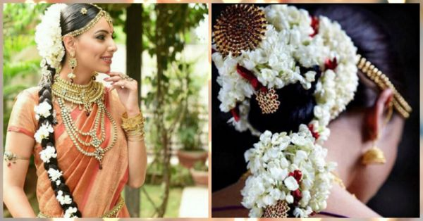 10 Beautiful Hairstyles With A Gajra For The Bride To Be!