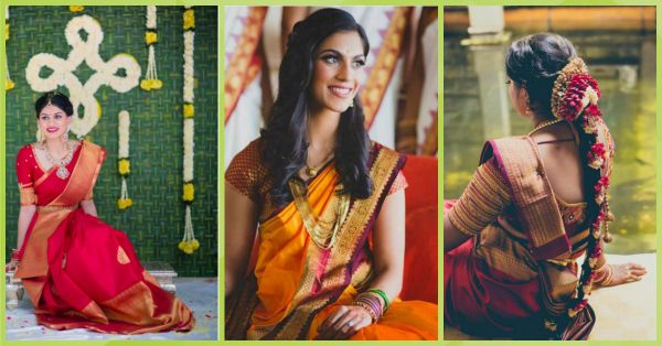 10 Beautiful Brides To Inspire Your Kanjivaram Style!