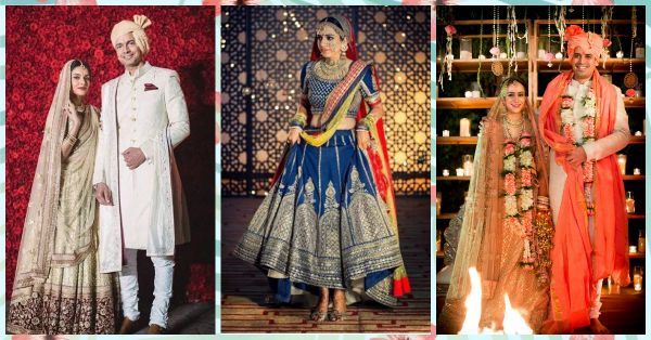 7 wedding lehenga designs For The Bride Who Doesn't Want To Wear Red Or Pink!