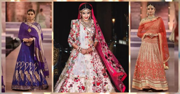 8 Designer Lehengas That Would Top Any Girl's Wedding Wishlist!