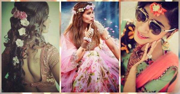 Pretty Ways To Wear Flowers On Your Shaadi (Not As A Gajra!)