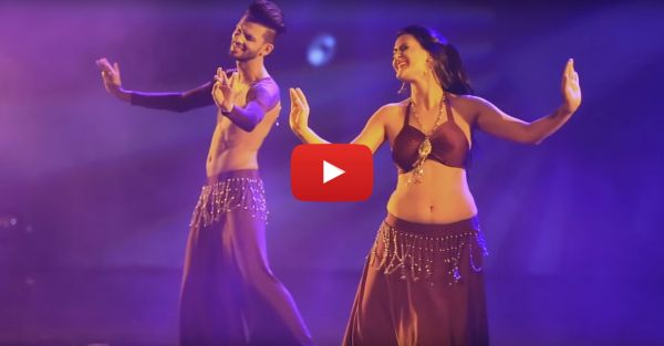 Belly-Dance On 'Tujhe Dekha'? This Is ​*Unbelievably*​ Amazing!