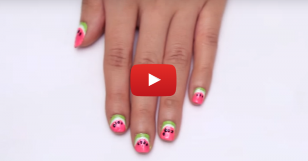 Nails Be Like… Watermelons Are AWESOME (Here's How To Do It!)