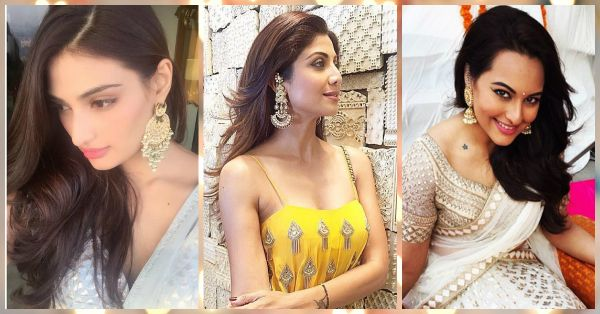 6 Celebs Who Wore *Stunning* Earrings To Wedding Functions!