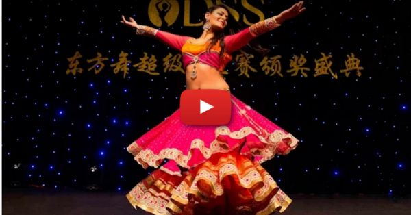 "Meher Malik's Belly-Dance On ""Deewani Mastani"" Is Just AMAZING!"