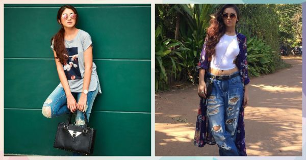 6 Fab Ways To Style Distressed Denims & Look Awesome!