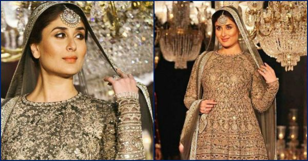 Kareena Kapoor Walks The Ramp With A Baby Bump & It's Beautiful!