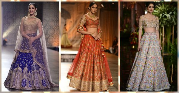 10 *Gorgeous* Lehengas To Inspire Your Sangeet Style!