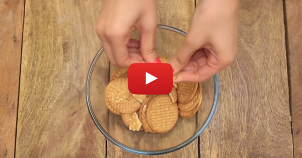How To Make A Yummy Cake At Home Using… Marie Biscuits!