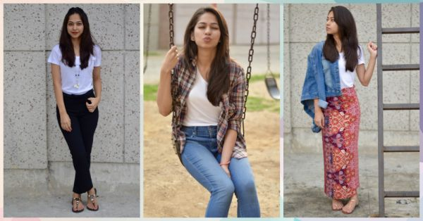 #FashionDiaries: How I Styled The Same T-Shirt In SEVEN Ways!