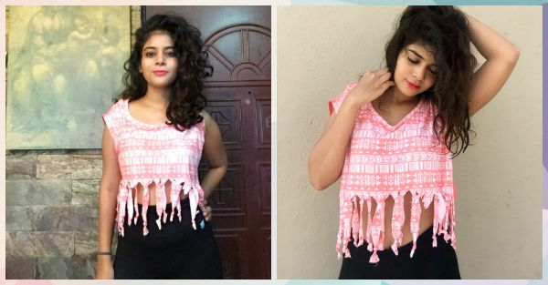 #FashionDiaries: How I Made A Fringe Crop Top In Just 15 Mins!