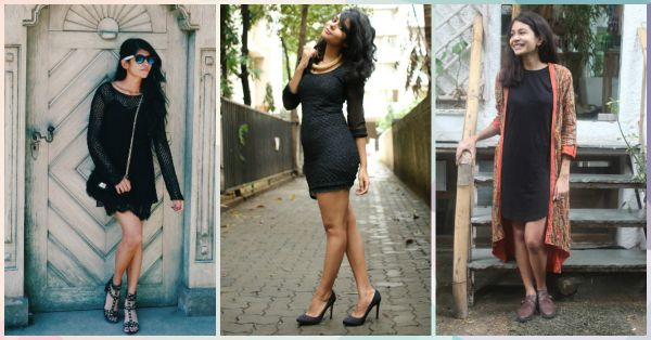 9 Ways To Dress Up A Basic Black Dress - Team POPxo Shows You!