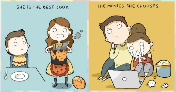 9 Times Your Boyfriend Loves You EVEN More… Illustrated!