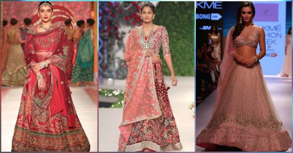15 Designer Lehengas EVERY Bride-To-Be Will Fall In Love With!