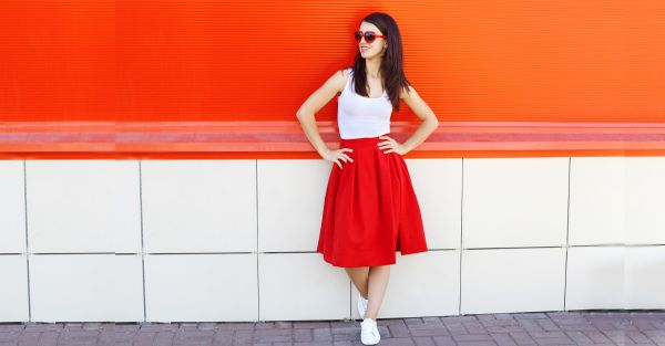 15 Super Pretty Knee-Length Skirts We Totally LOVE!