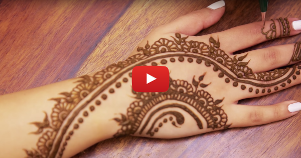 Super Pretty Mehendi Design For Karva Chauth!
