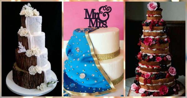 The Most Beautiful Wedding Cakes - You'll ADORE Them!