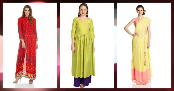 8 Stunning Indian Outfits To Rock This Festive Season!