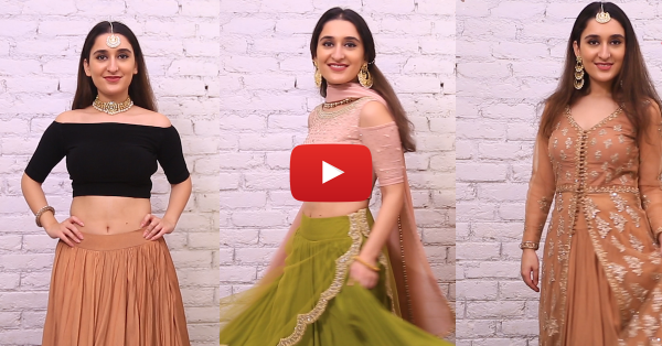 Tips And Tricks To Look Slimmer In A Lehenga!