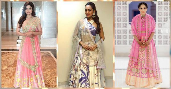 c3cf1f736f 10 Ways You Can Look Slimmer in Your Wedding Lehenga! | POPxo