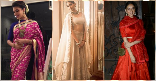 What Our FAV Celebs Wore This Diwali - 14 Stunning Outfits!