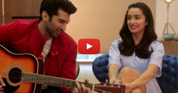 Shraddha & Aditya Sing To Each Other... This Is ADORABLE!