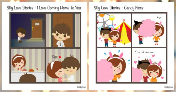 5 Silly, Sweet & Adorable Love Stories... Illustrated!