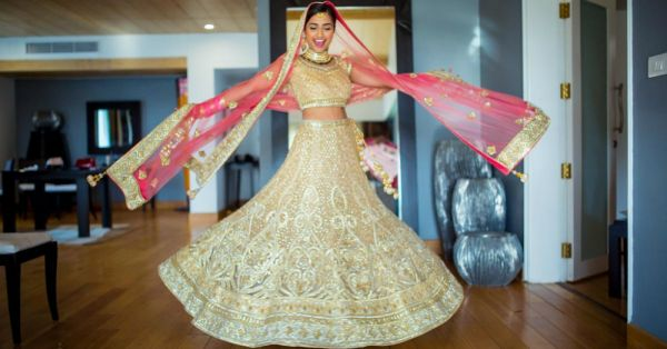 10 Stunning Designer Lehengas Worn By Real Brides *Lovestruck*