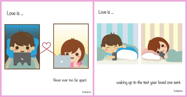 Love Is In... The Little Things - 7 ADORABLE Illustrations!
