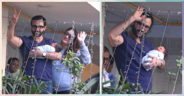 #Aww: Could Saif & Kareena *Be* More Happy About Baby Taimur?