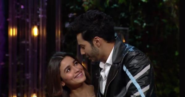 Alia & Varun Are TOO Cute To Handle In The Next KWK Episode!