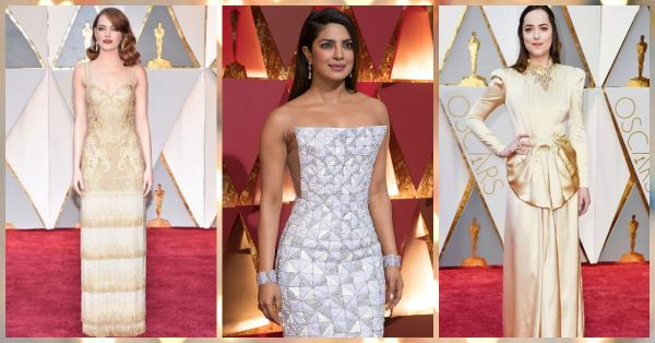 10 *Stunning* Red Carpet Looks From The 2017 Oscars!