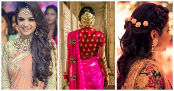 10 Super *Pretty* Sangeet Hairstyles Inspired By Real Brides!