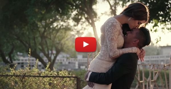 'I Walked Into Love With You' - This Wedding Video Is Magical!