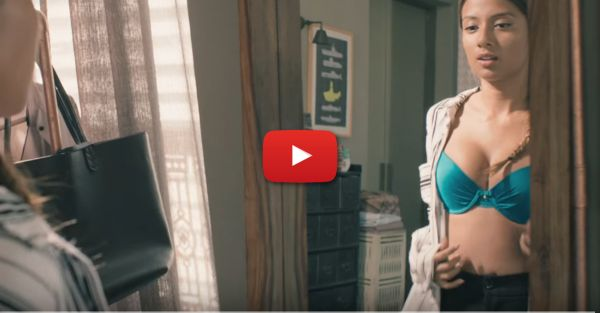 A Girl & Her Bra: This Amazing Video Will Make You Smile ALL Day