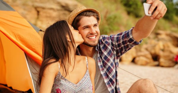 20 Adorable Captions For Your Next Selfie With Bae!
