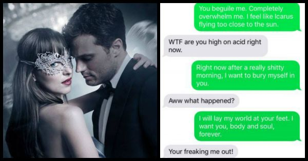 When You Send 'Fifty Shades' Sexts To Bae - This Is HILARIOUS!